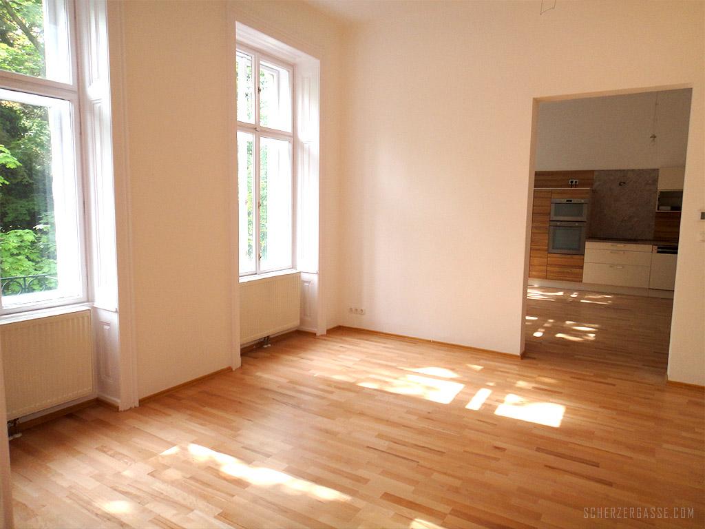 3-wohnzimmer-kueche  Scherzergasse 1