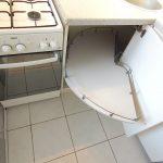 Küche Gasherd + Unterkasten